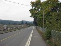 The Sooke Lake Road Connector, also known as Amy Road, provides a safe route for the Mt Wells neighbourhood to the Trans Canada Highway.
